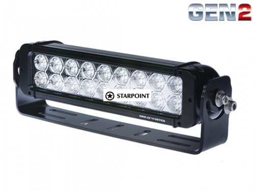 13 inch Great white Double Row LED Light bar 90 Watt Gen2 Dual LED Light bar