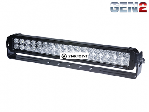 22 inch Great white Double Row LED Light bar 180 Watt Gen2 Dual LED Light bar