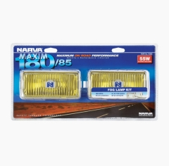 Narva Maxim 180/85 Yellow Fog Lamp Kit