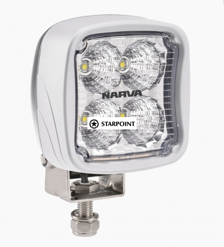 Narva 9-64V LED Work Lamp Flood Beam - White - 1800 lumens