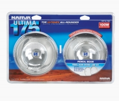 Narva Ultima 175 Pencil Beam Driving Lamp Kit
