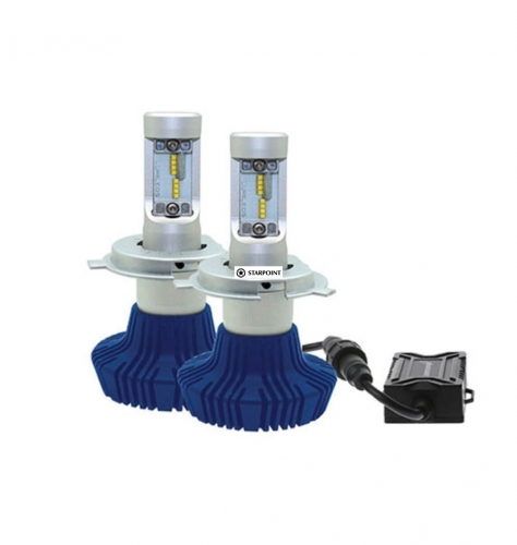 Thunder LED H4 Replacement Headlight Globe Kit