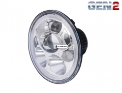 "Great Whites 7"" LED Headlight Sealed Beam High / Low Headlight Insert with Park Light"