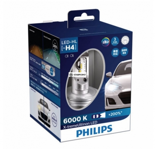 Philips X-treme Ultinon LED-HL H4