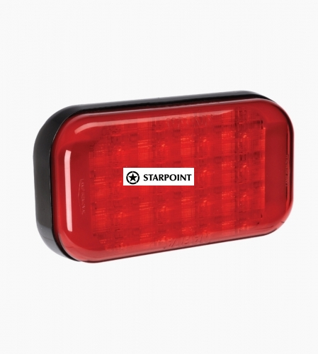 Narva 9–33 VOLT MODEL 41 LED REAR STOP/TAIL LAMP (RED)