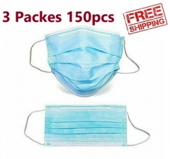 Disposable Face masks 3 Packs of 150pcs Medical Face Masks with competitive price