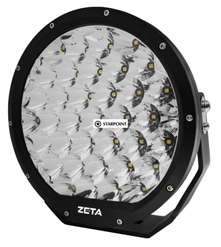 "ZETA09  Pair 9 inch  LED Driving Lamps 9"" Round LED Driving Light Kit, 4x4 spotlights"